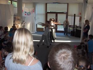 Tanzgruppe der Realschule Hochdahl
