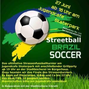 Streetball Brazil Soccer
