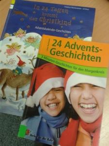 Dies sind nur zwei Bespiele von unseren Advents- und Weihnachtsgeschichten