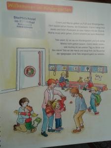 """diese Seite aus dem Leyo!-Titel """"Conni im Kindergarten"""" teste ich hier für euch"""