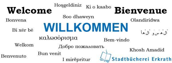 Willkommen in der Stadtbücherei Erkrath - Unser aktuelles Facebook-Titelbild