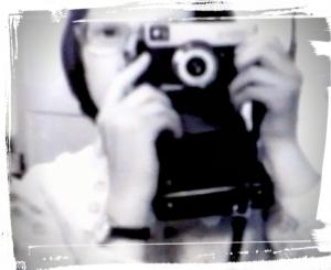 Selbstfoto analog / digital bearbeitet