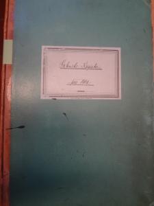 Geburtsregister von 1901