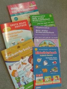 Eine kleine Auswahl unserer mehrsprachigen Bildwörterbücher