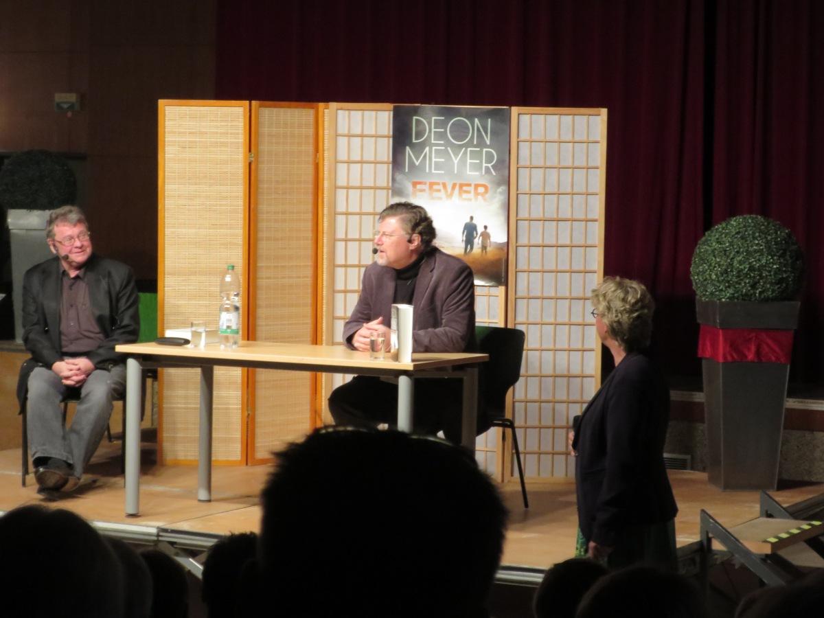 Eindrücke von der Lesung - Deon Meyer live in Erkrath