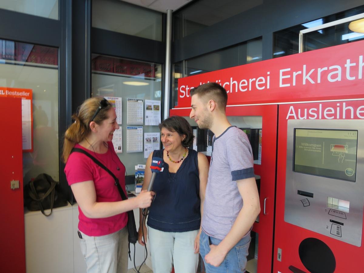Welttag des Buches - mit uns in Unterfeldhaus auch auf WDR 4
